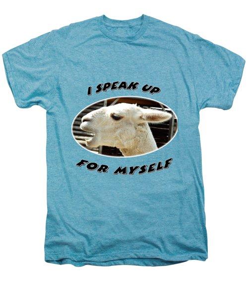 Speak Up Men's Premium T-Shirt