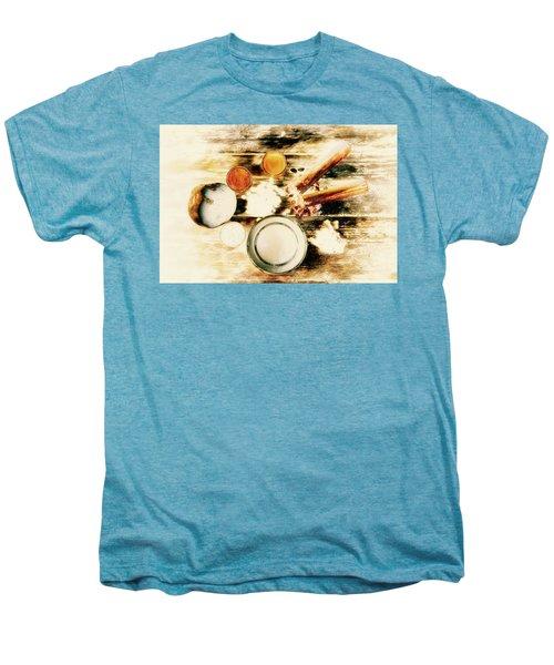Spice Brown  Men's Premium T-Shirt