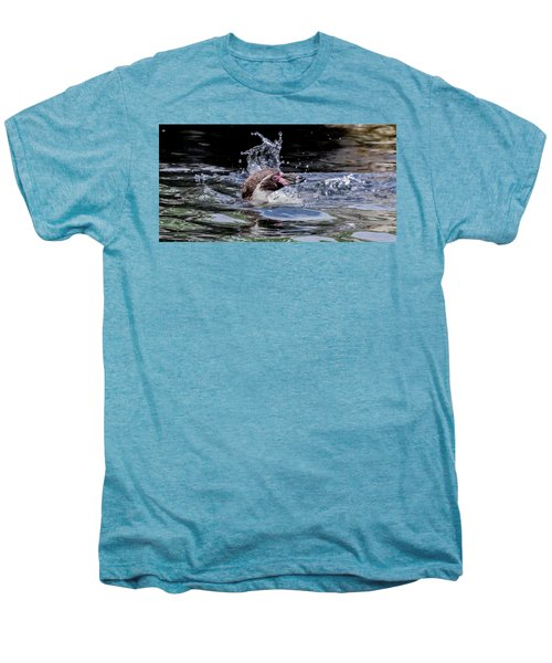 Splashing Humboldt Penguin Men's Premium T-Shirt