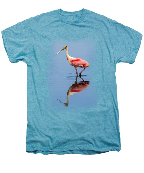 Spoonbill 3 Men's Premium T-Shirt by John M Bailey