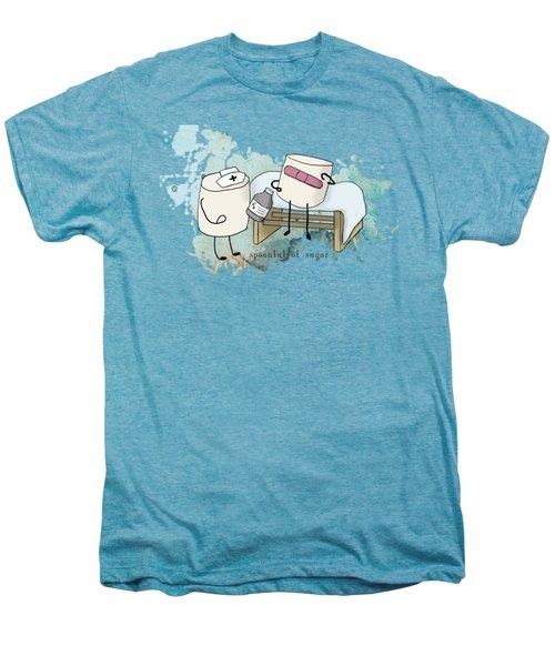 Spoonful Of Sugar Words Illustrated  Men's Premium T-Shirt