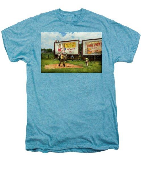 Sport - Baseball - America's Past Time 1943 Men's Premium T-Shirt