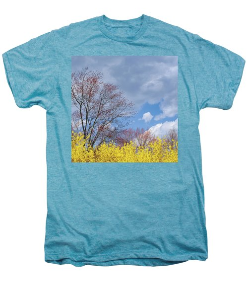 Men's Premium T-Shirt featuring the photograph Spring 2017 Square by Bill Wakeley