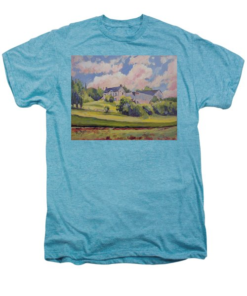 Spring At The Hoeve Zonneberg Maastricht Men's Premium T-Shirt by Nop Briex