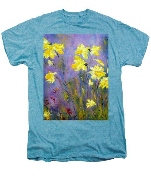 Spring Daffodils Men's Premium T-Shirt