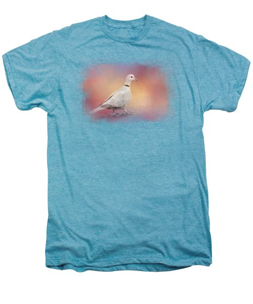 Spring Eurasian Collared Dove Men's Premium T-Shirt by Jai Johnson