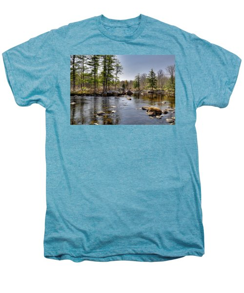 Men's Premium T-Shirt featuring the photograph Spring Near Moose River Road by David Patterson