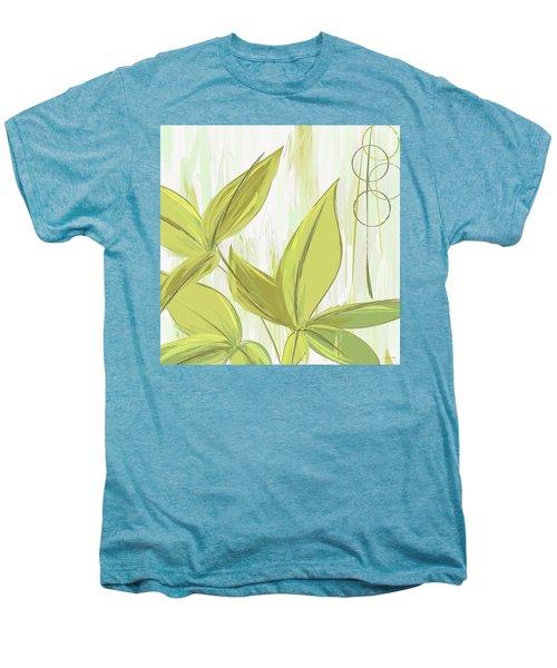 Spring Shades - Muted Green Art Men's Premium T-Shirt by Lourry Legarde