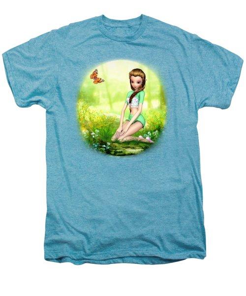 Springtime Pretties Men's Premium T-Shirt by Brandy Thomas