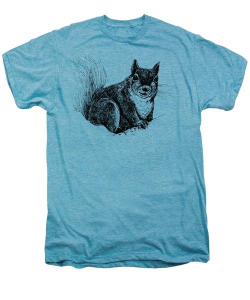 Squirrel Drawing Men's Premium T-Shirt