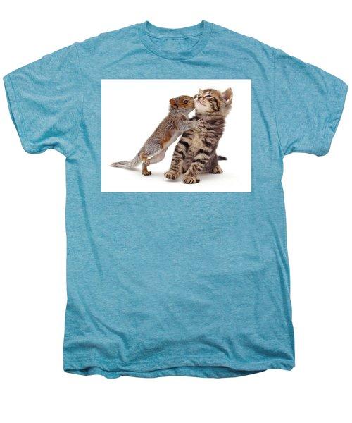 Squirrel Kiss Men's Premium T-Shirt
