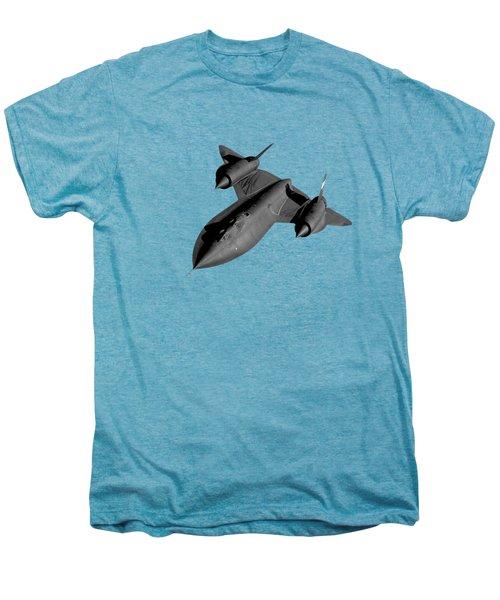 Sr-71 Blackbird Flying Men's Premium T-Shirt