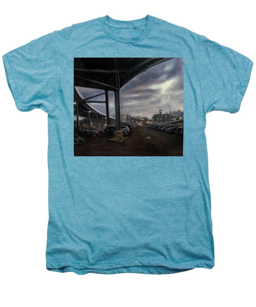 St. George From The Staten Island Ferry Terminal Men's Premium T-Shirt