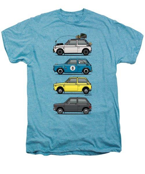 Stack Of Honda N360 N600 Kei Cars Men's Premium T-Shirt