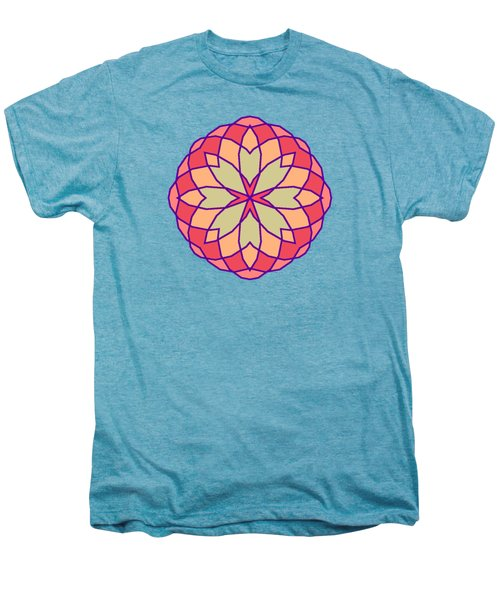 Stained Glass Men's Premium T-Shirt