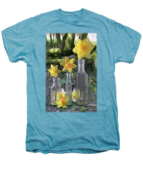 Still Life In The Woods Men's Premium T-Shirt by Jon Delorme