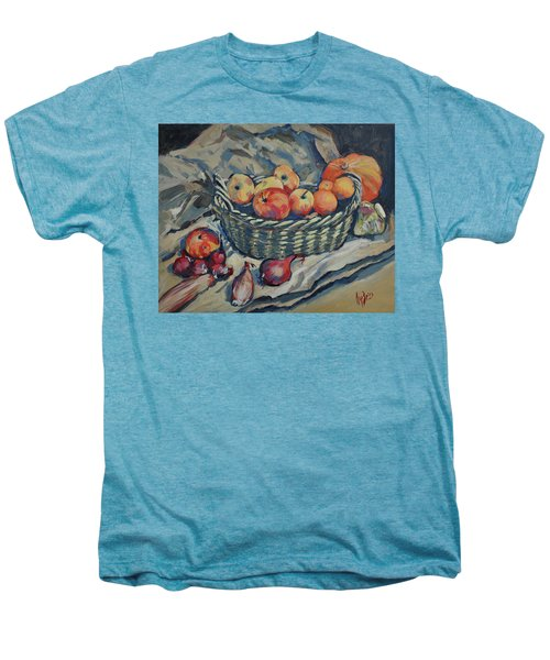Still Life With Fruit And Vegetables Men's Premium T-Shirt