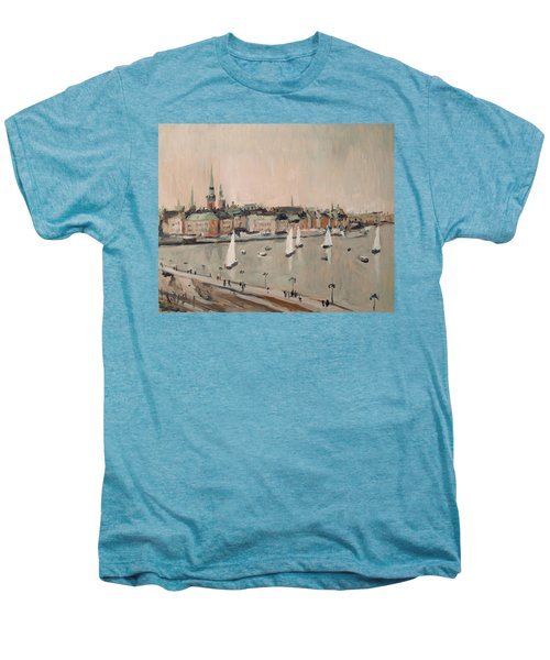 Stockholm Regatta Men's Premium T-Shirt by Nop Briex