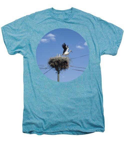 Storks Nest Alentejo Men's Premium T-Shirt by Mikehoward Photography