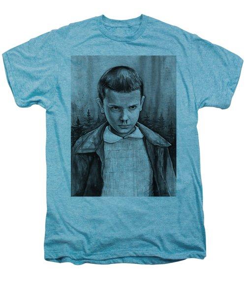 Stranger Things Fan Art Eleven Men's Premium T-Shirt