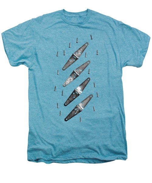 Strap Hinges And Screw Again Men's Premium T-Shirt by YoPedro