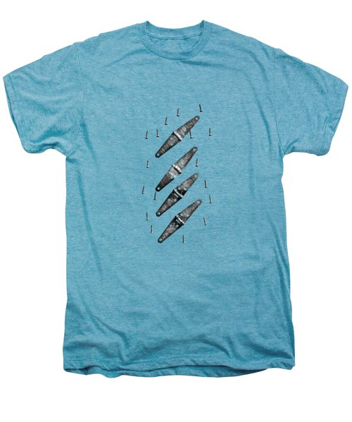 Strap Hinges And Screws Men's Premium T-Shirt by YoPedro