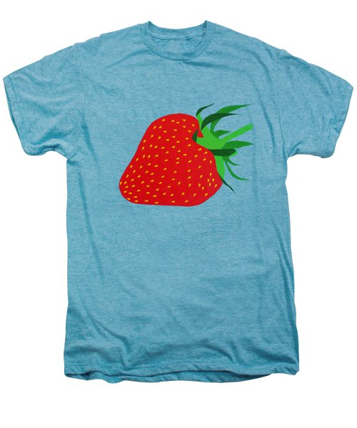 Strawberry Pop Remix Men's Premium T-Shirt by Oliver Johnston
