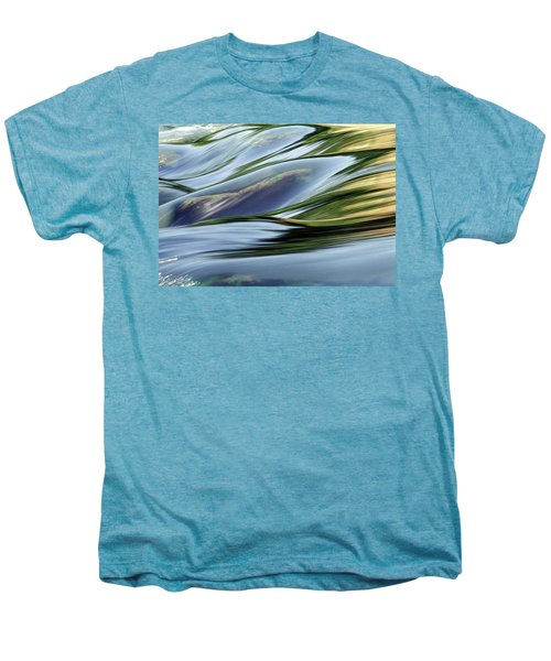 Men's Premium T-Shirt featuring the photograph Stream 3 by Dubi Roman