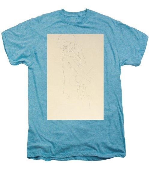 Study For Adele Bloch Bauer II Men's Premium T-Shirt by Gustav Klimt