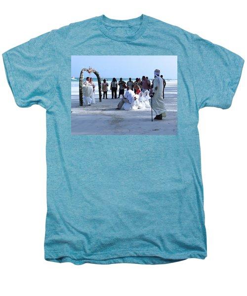 Stunning Kenya Beach Wedding Men's Premium T-Shirt