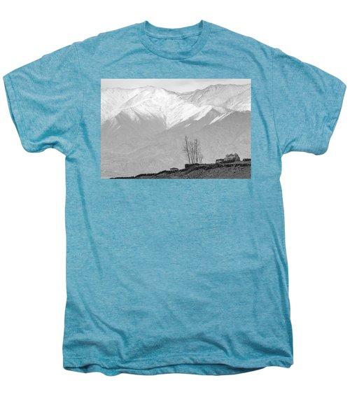 Stupa And Trees Men's Premium T-Shirt