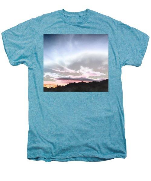 Submarine In The Sky Men's Premium T-Shirt