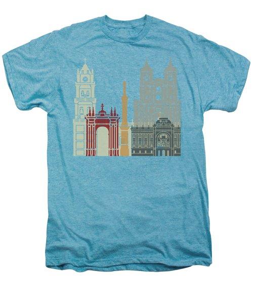 Sucre Skyline Poster Men's Premium T-Shirt by Pablo Romero