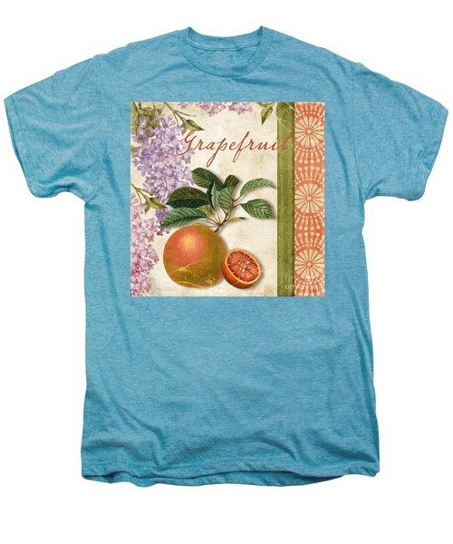 Summer Citrus Grapefruit Men's Premium T-Shirt by Mindy Sommers