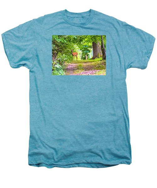 Men's Premium T-Shirt featuring the photograph Summer Stroll by Anthony Baatz