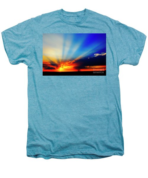 Sun Rays Men's Premium T-Shirt