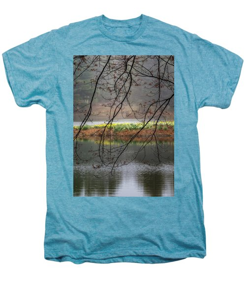 Men's Premium T-Shirt featuring the photograph Sun Shower by Bill Wakeley