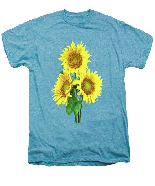 Sunflower Dreaming Men's Premium T-Shirt