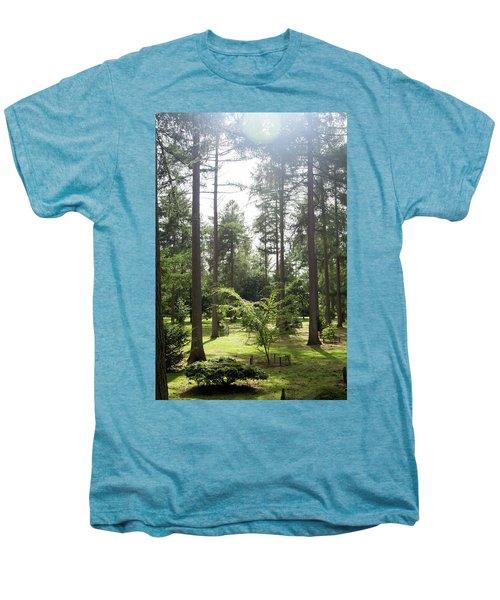 Sunlight Through The Trees Men's Premium T-Shirt