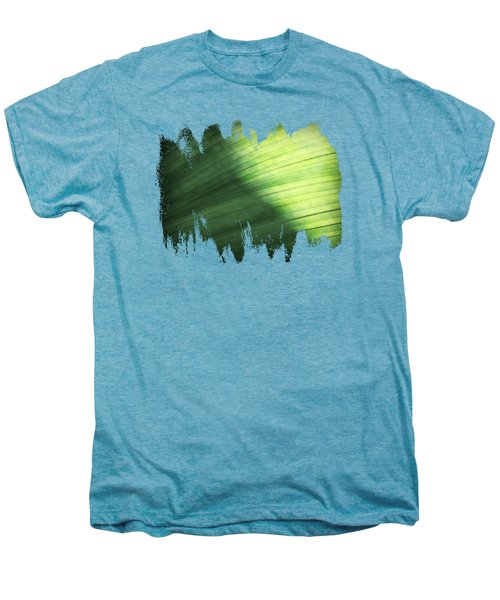 Sunlit Palm Men's Premium T-Shirt by Anita Faye