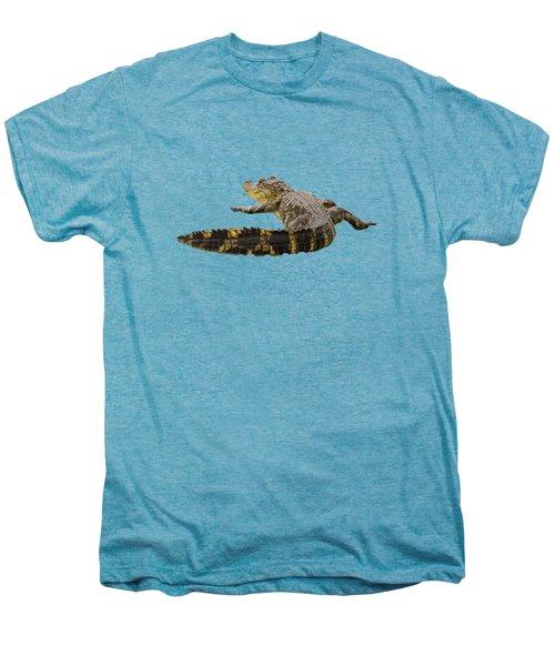 Sunning On The Shore Men's Premium T-Shirt