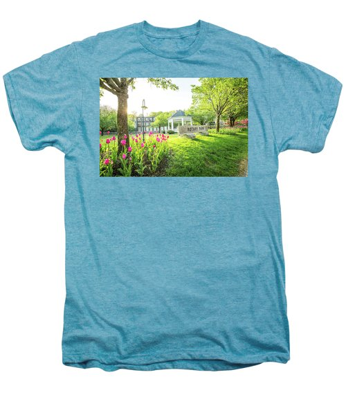 Sunrise At Rotary Park Men's Premium T-Shirt