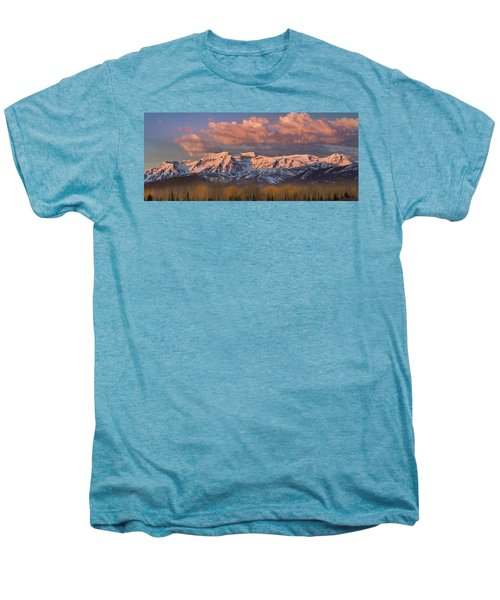 Sunrise On Timpanogos Men's Premium T-Shirt