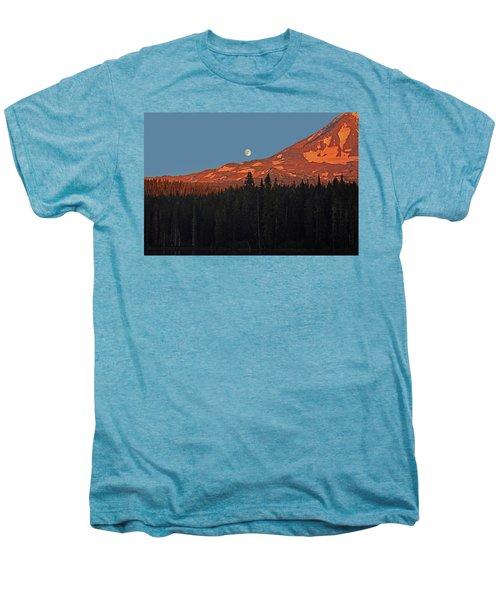 Sunset And Sunrise At Mt Adams Men's Premium T-Shirt