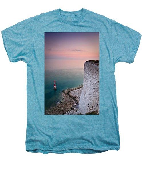 Sunset At Beachy Head Men's Premium T-Shirt