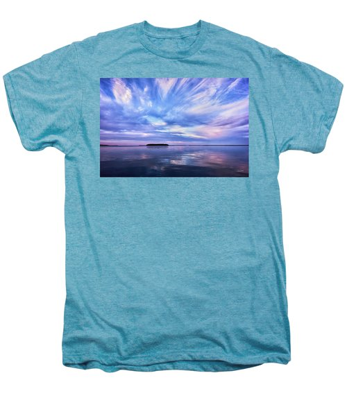 Sunset Awe  Signed Men's Premium T-Shirt
