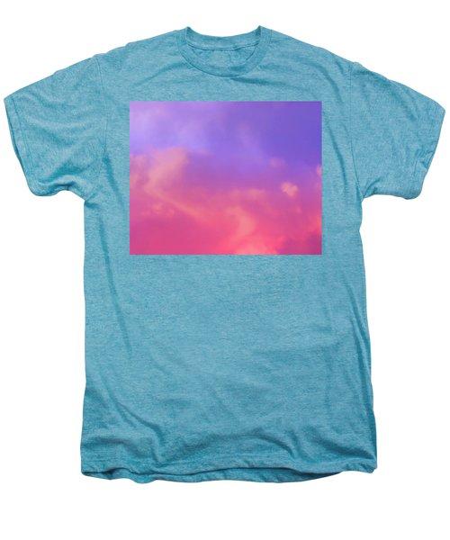 Sunset Clouds Men's Premium T-Shirt