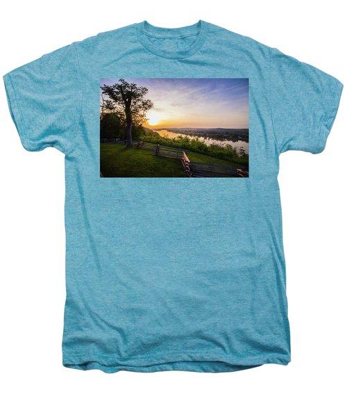Sunset From Boreman Park Men's Premium T-Shirt