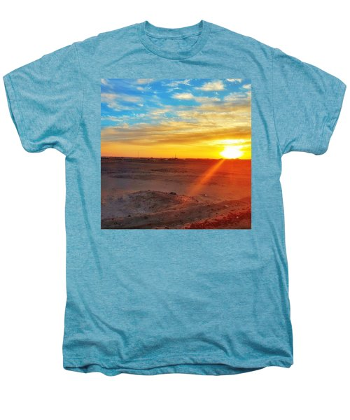Sunset In Egypt Men's Premium T-Shirt