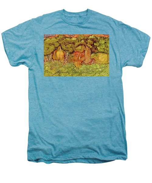 Sunset In The Forest Men's Premium T-Shirt